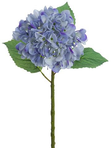 """19"""" Real Touch HydrangeaSprayDelphinium Blue"""